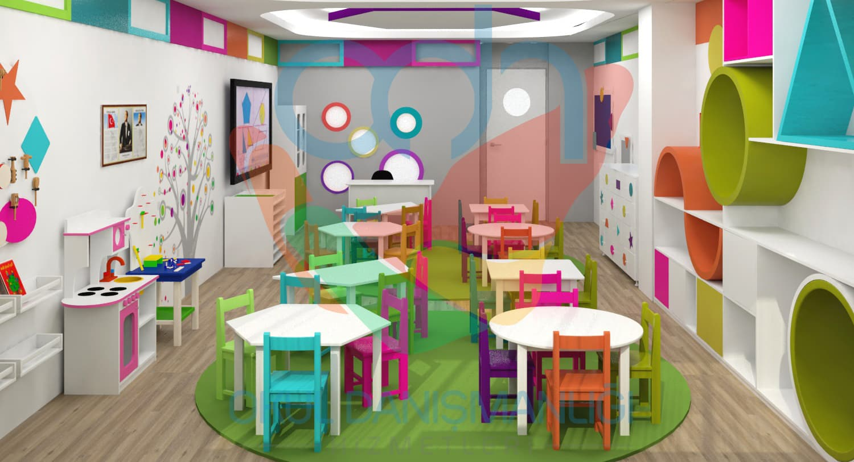 Anaokulu tasarımları
